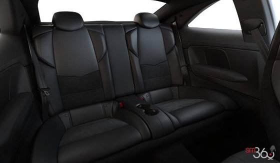 Jet Black Recaro Leather (W2E-HG3) with sueded microfiber inserts and seatbacks