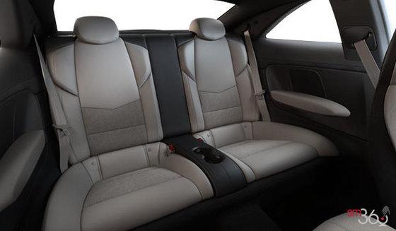 Cuir Recaro Platine clair/Noir jais (W2E-HG1) avec dossiers de sièges et empiècements en microfibre suédée