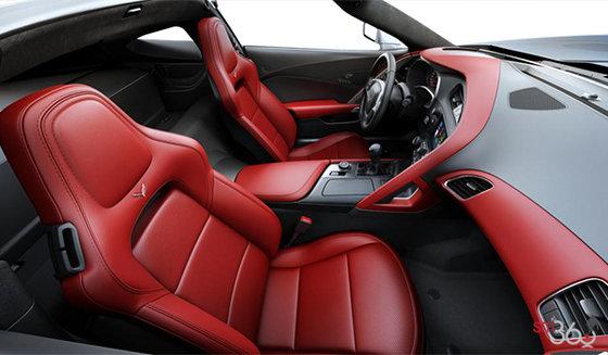 Sièges baquets GT en cuir napa perforé rouge adrénaline (705-AQ9)