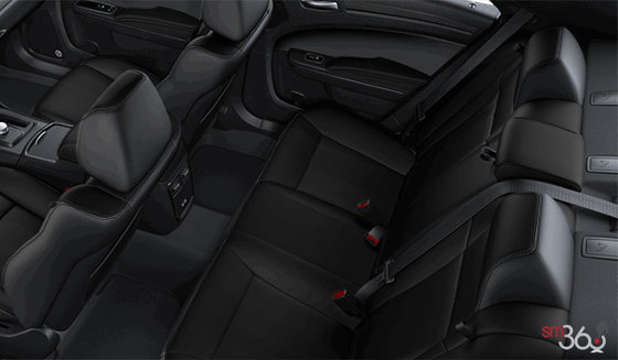 Black Vented Alcantara Leather