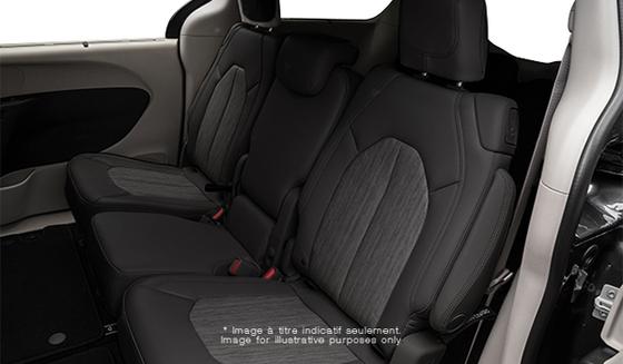 Black Cloth with Light Diesel Grey Stitching (F7X3)