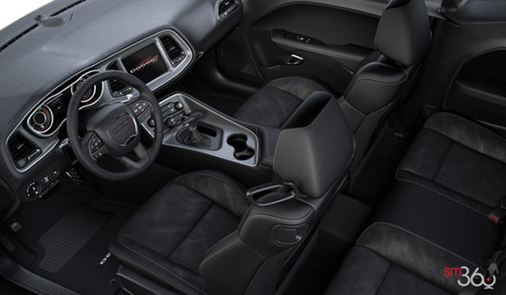Black Alcantara Vented Leather (ECX9)