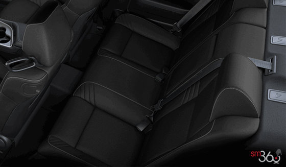 Black Alcantara Vented Leather (ECX9)