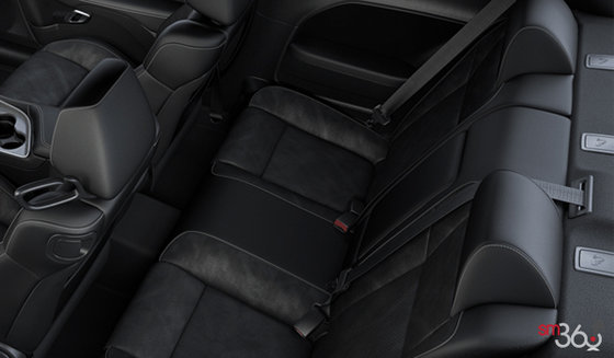 Black Alcantara Leather with  T/A (JJX9)