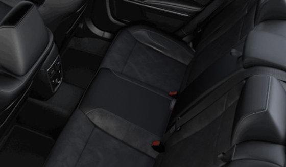Alcantara Vented Black Leather (CJX9)