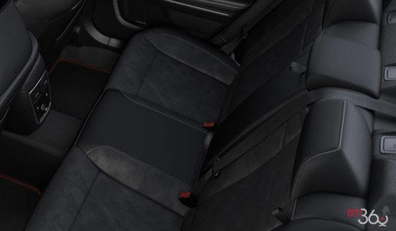 Alcanta Black Leather with SRT logo (T5X9)