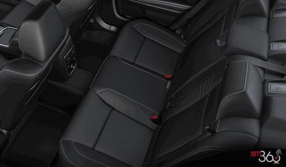 Laguna Black Leather w SRT Hellcat Logo (W8X9)