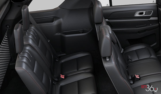 Ebony Black Perforated Leather (CW)