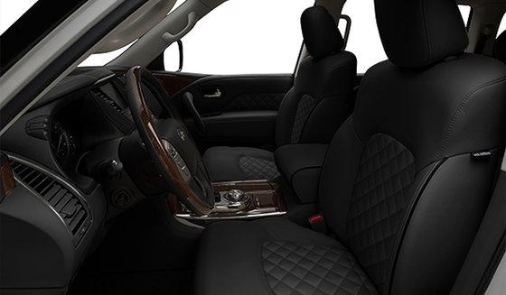 Graphite Semi-Aniline Leather