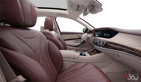 Mahogany / Silk Beige Exclusive Nappa Leather