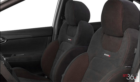 NISMO Black/Red Synthetic Suede