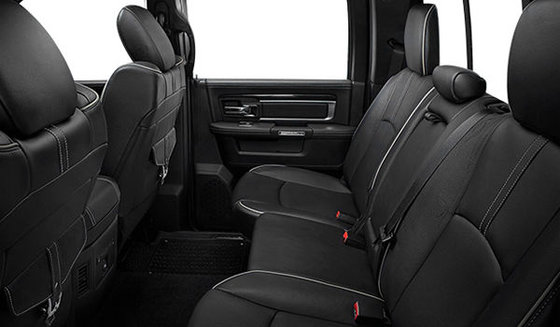 Black Bucket Seats Vented Leather (ULX9)
