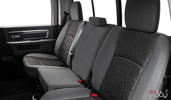 Tissu haut de gamme Gris diesel/Noir- baquet (MJX8)