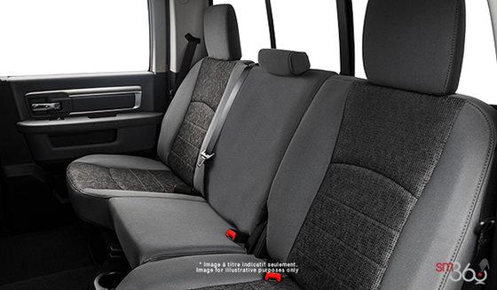 Tissu haut de gamme Gris diesel/Noir (M9X8)