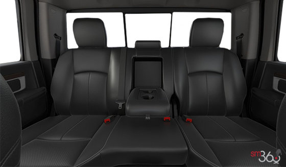 Vented Bucket Seats in Black Leather (GJX9)