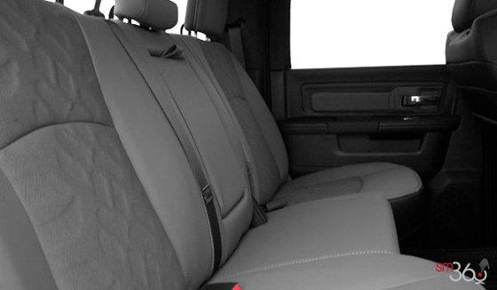 Tissu gris diesel/noir avec motif à bande de roulement (H9X8)