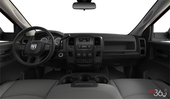 Diesel Grey/Black Cloth Front 40/20/40 Bench Seat (V9X8)