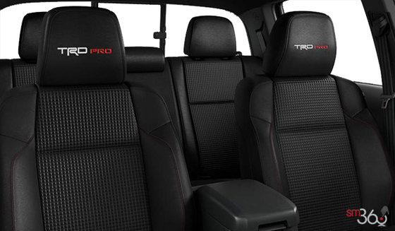 Black TRD Pro Leather