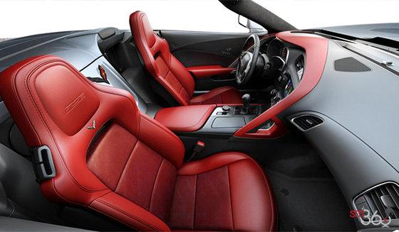 Sièges baquets GT en cuir avec empiècements en microfibre suédée rouge adrénaline (704-AQ9)