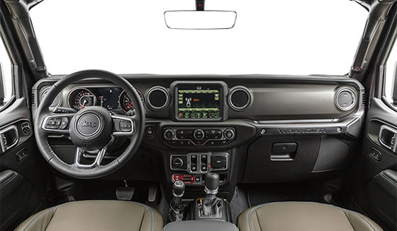 Black interior w/ Heritage Tan Leather-Faced Seats w/ Accent Stitching (ALT5)