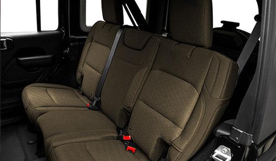 Black interior w/ Heritage Tan Bucket Seats (A7T5)