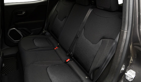 Sièges baquets en tissu de luxe noir, intérieur noir (C5X9)
