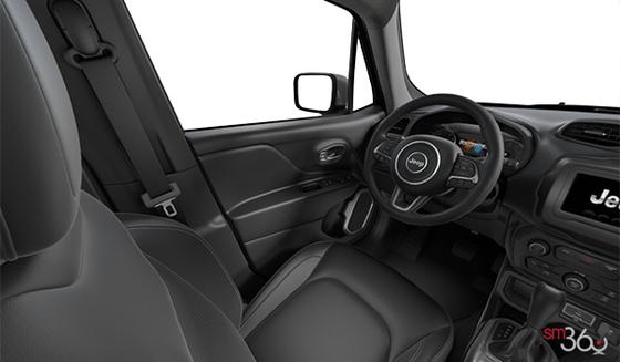 Black Leather-Faced Bucket seats, Black Interior (CLX9)