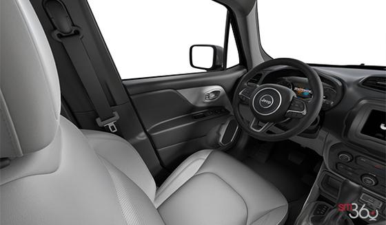 Ski Grey/Black Leather-Faced Bucket seats, Black Interior (CLXS)