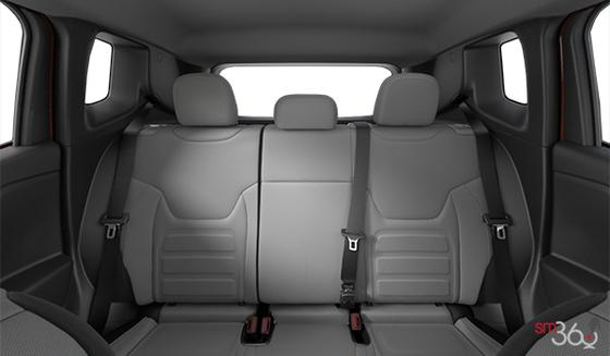 Black & Ski Grey Cloth Bucket seats, Black Interior (N7XS)