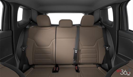 Black & Sandstorm Cloth Bucket seats, Black Interior (N7XU)