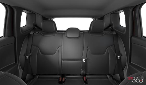 Black Leather-Faced Bucket seats, Black Interior (DLX9)