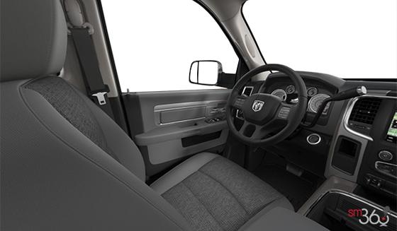 Diesel Grey/Black Premium Cloth Front Bucket Seats(MJX8)