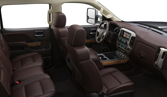 Chevy High Country Interior