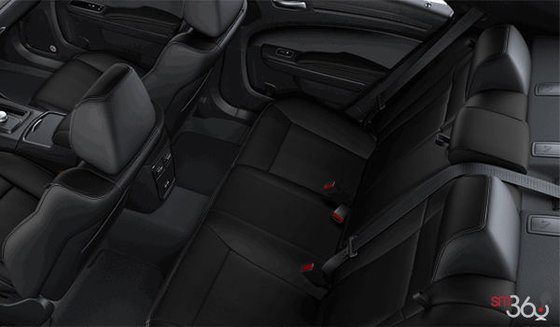 Vented Nappa/Alcantara Black Leather (KLX9)