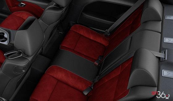 Black/Ruby Red Nappa Leather (RLXC)