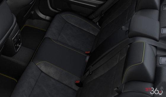 Black Alcantara Leather  (GQX9)