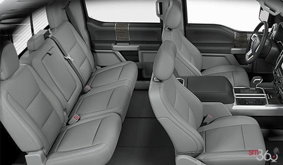 Medium Earth Grey Leather bucket seats (HG)