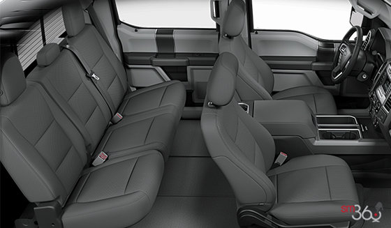 Medium Earth Grey Cloth bucket seats (UG)