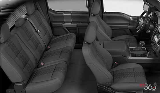 Black Sport Cloth bucket seats (FB)