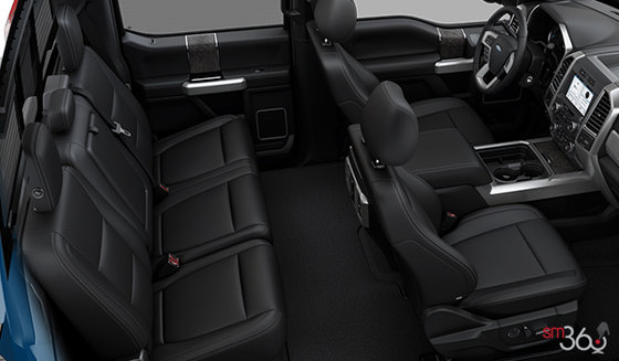 Black Premium Leather Captain's Chairs (5B)