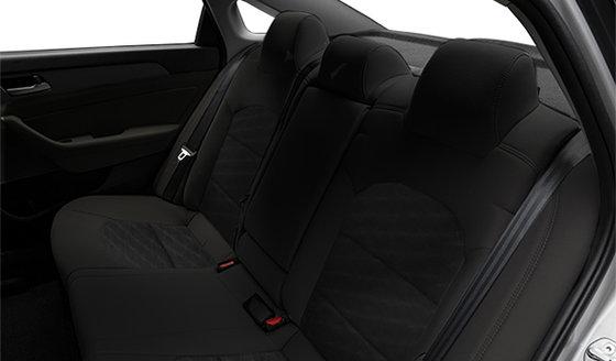 Black Leather/Cloth