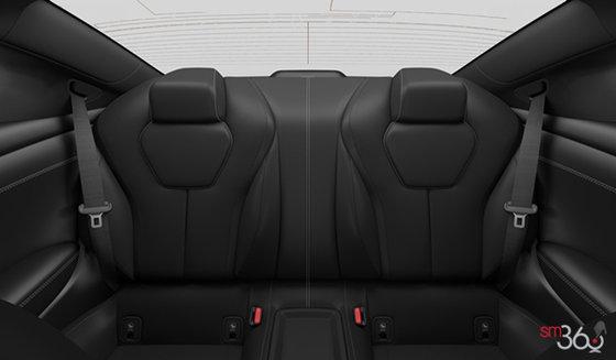 Graphite Semi-Aniline Leather with Kacchu Alluminum Trim