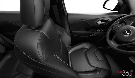 Black Nappa Leather Front Vented Seats (DLX9)