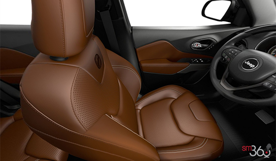 Dark Sienna Leather-Faced Seats w/ Perforation (ULT9)