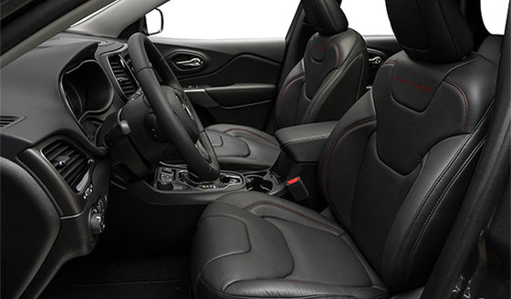 Black Nappa Leather front vented seats  (BLX9)