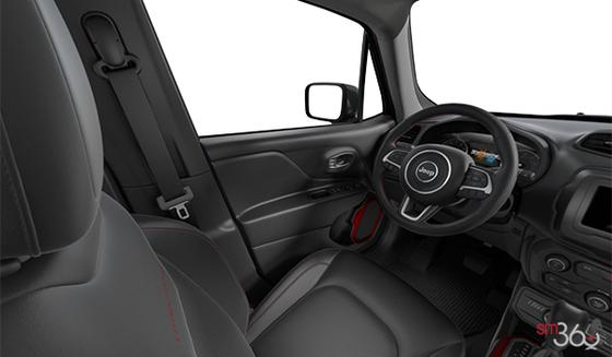 Black Mckinley Leather-Faced Bucket seats (DLX9)
