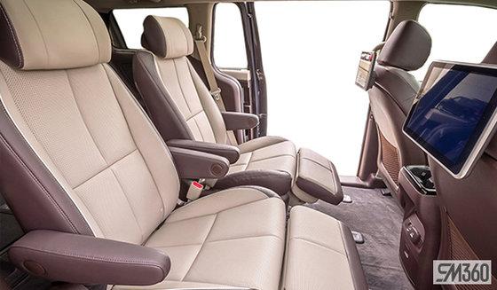 Nappa Leather Two-Tone Burgundy Grey