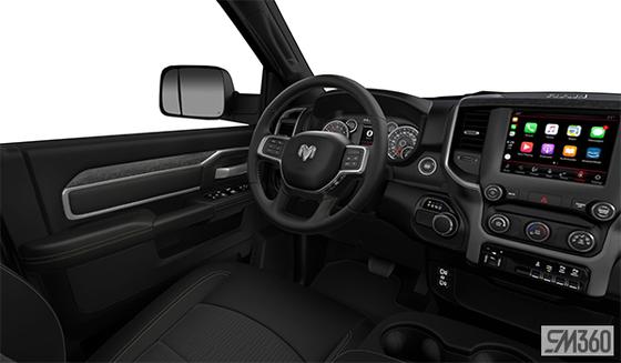 Black Premium Cloth Bench Seat (M9X9)