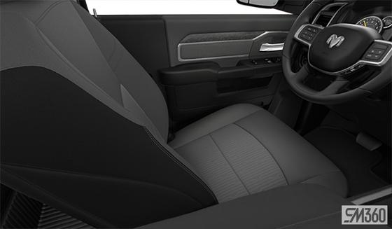 Diesel Grey/Black Premium Cloth Bucket Seat (MJX8)