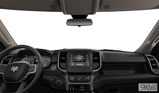 Diesel Grey/Black Cloth Bench Seat (V9X8)